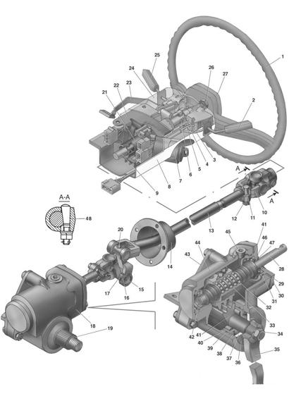 Колонка рулевого управления для ГАЗель Next