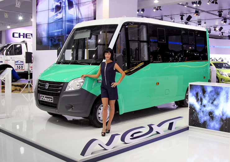 Фотография автобуса Газель некст на выставке